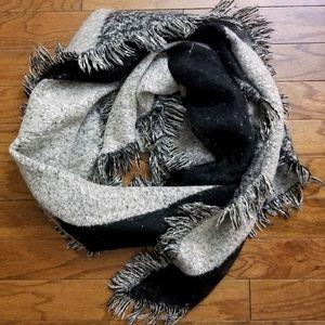 Blanket Scarf Soft Fringe